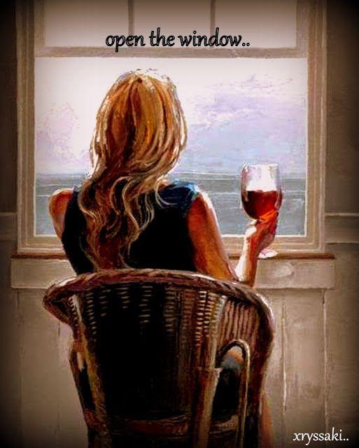 """xryssa sakellaropoulou """"running & writing"""":     Καθεπονος και μια σιωπη..  βλεπωντας το καθαρ..."""