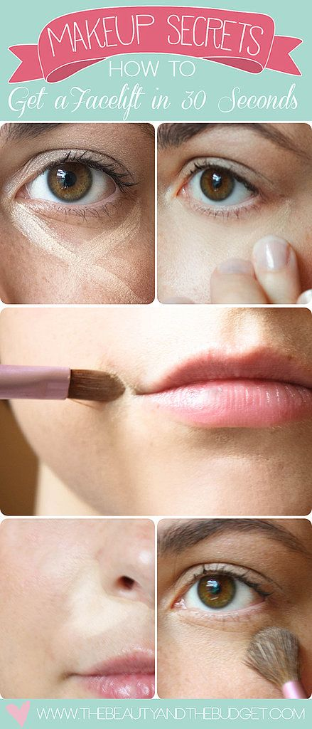 Makeup Secrets: How To Get A Facelift In 30 Seconds