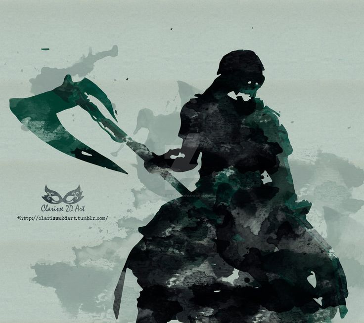 [Guild Wars 2 - Fanart]: The Reaper Watercolour by Clarisse2DArt.deviantart.com on @DeviantArt