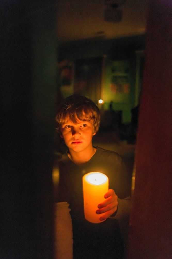 Gabriel Bateman in Lights Out