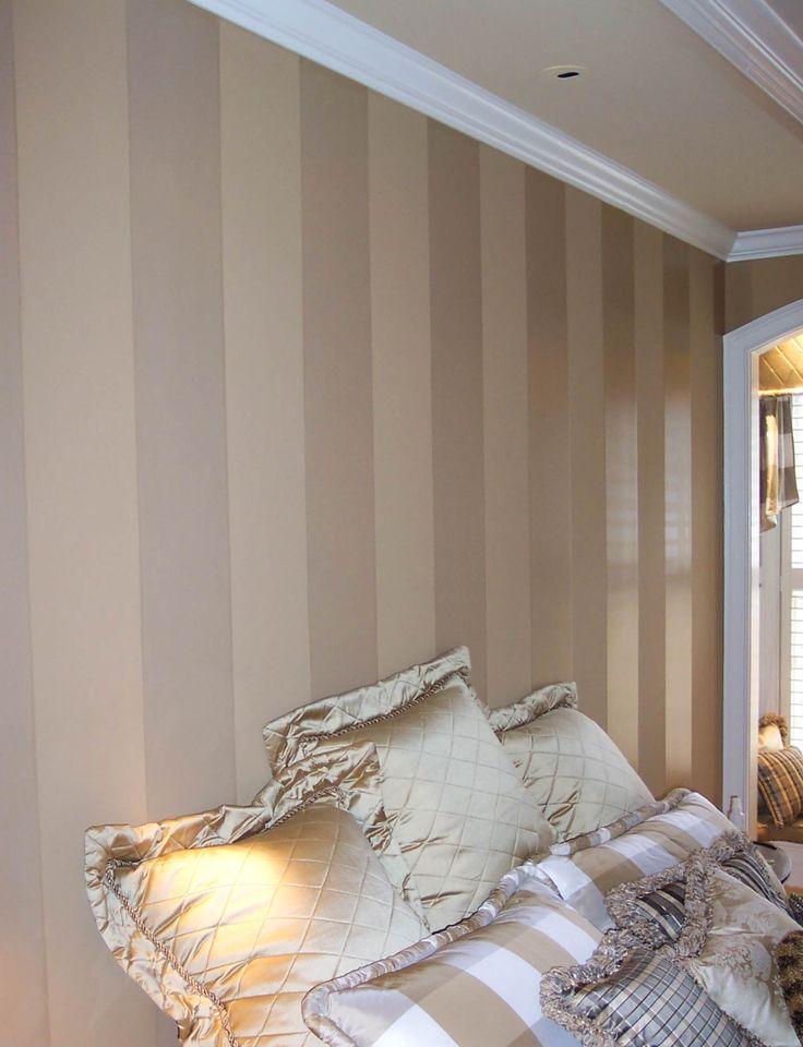 Polyurethane stripes add elegant and understated interest