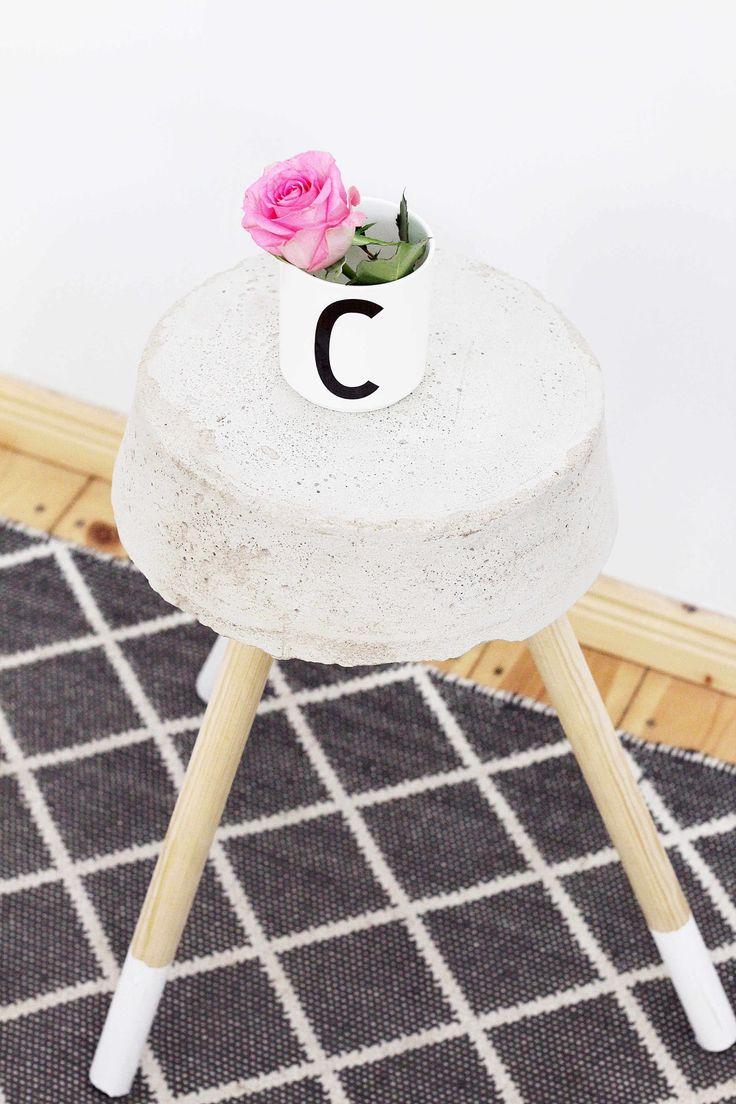 45 besten DIY Cement / Gips Deko Bilder auf Pinterest | Zement, Deko ...
