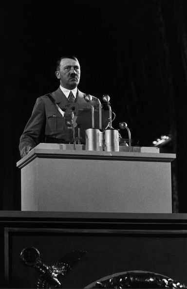 a speech and report on adolf hitler Speech by adolf hitler, berlin, september 30, 1942 there was a time when the jews in germany also laughed at my prophecies i do not know whether they are still.