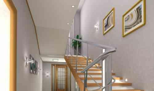 tableaux déco et cage d'escalier moderne