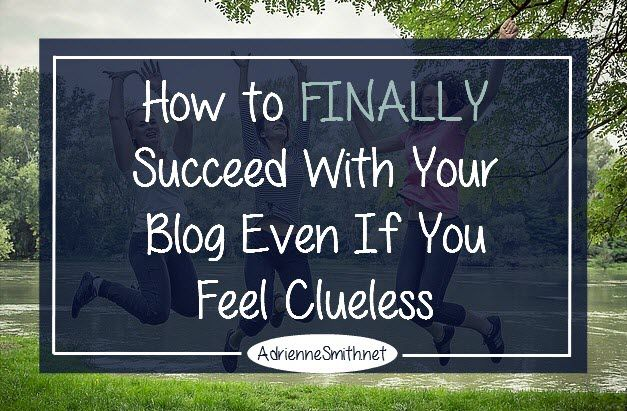 Who have you been learning from and would you say you're succeeding with your blog? If not then do you know why? Maybe I can shed some light on that for you.