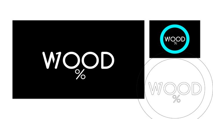 This complementary logo creatively combines the company's website aesthetics with the essential information that the total range of products is made exclusively of solid wood.