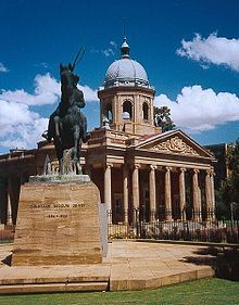 Bloemfontein, in the Free State Province, is the judicial capital of South Africa.