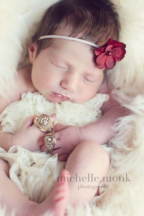Texas aggie ring newborn picture newborn pics by michelle monk dallas ft