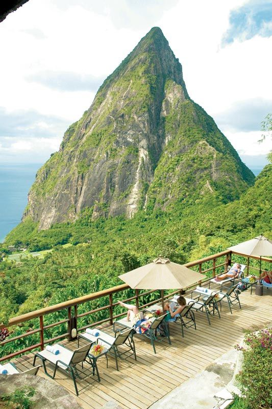 open wall resort st lucia ladera