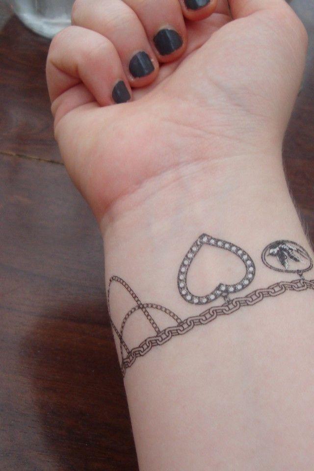 best 25 bracelet tattoos ideas on pinterest bracelet tattoos with names ankle bracelet. Black Bedroom Furniture Sets. Home Design Ideas