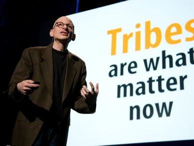 Seth Godin's TED talk on Tribes and how marketing has changed. http://www.ted.com/talks/seth_godin_on_the_tribes_we_lead.html