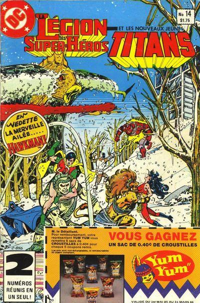 Cover for La Légion des Super Héros et les Nouveaux Jeunes Titans (1984 series) #14