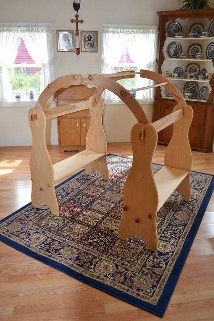 Waldorf Playstands - Natural Wooden Waldorf Playstands - Nature's Crib