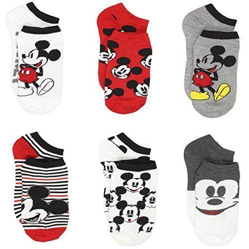 Disney Mickey Mouse Baby Boys/' 6-Pack Crew Socks