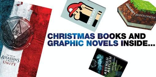 Christmas Inside: Book & Graphic Novel Recommendations @ ForbiddenPlanet.com