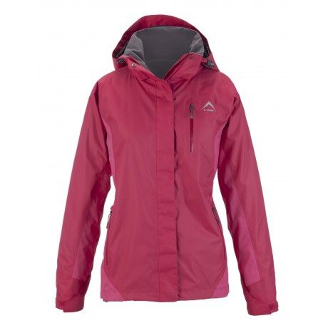 K-Way's Quinta is a ladies' hiking shell jacket from the Expedition Series, made from 100% nylon full dull dobby with a waterproof, windproof and vapour permeable finish. The jacket is lined with taffeta for extra wickability and semi-elasticated and adjustable cuffs ensure a comfortable fit.