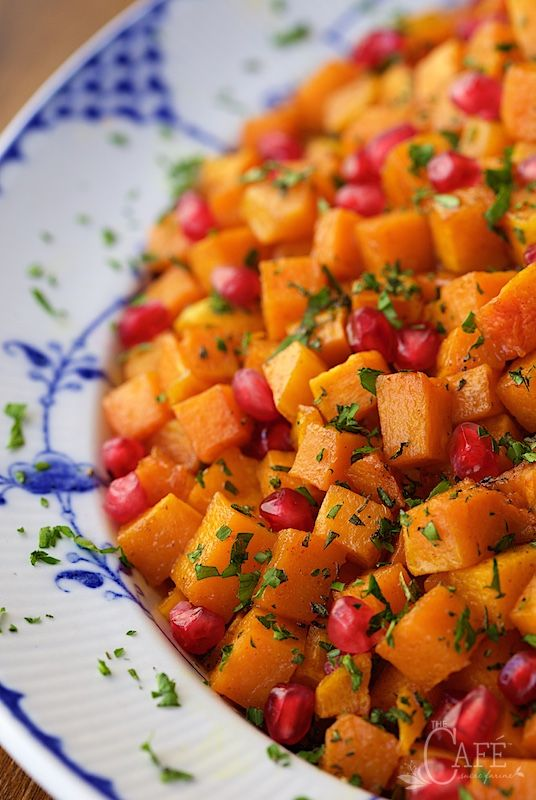 Roasted Brown Sugar-Curry Butternut Squash - with brown sugar, maple ...