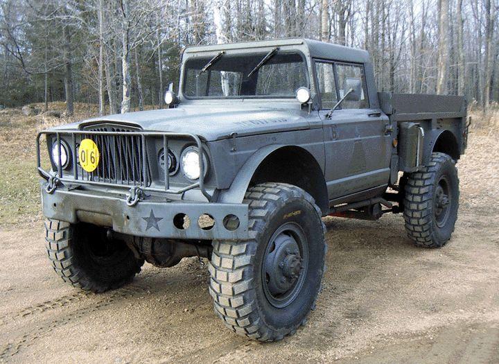 1968 Kaiser Jeep M715 Trucks Car Wheels Jeep Truck
