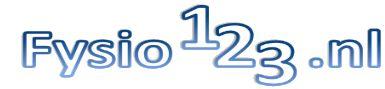 Logo Fysio123.nl