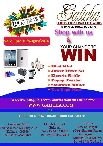 Shop with us and you may win exciting #prizes.