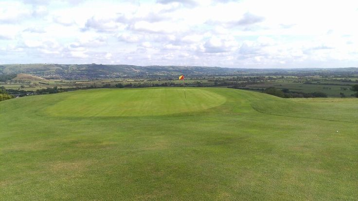 One of the Par 3's at Isle of Wedmore in Somerset. Great view.