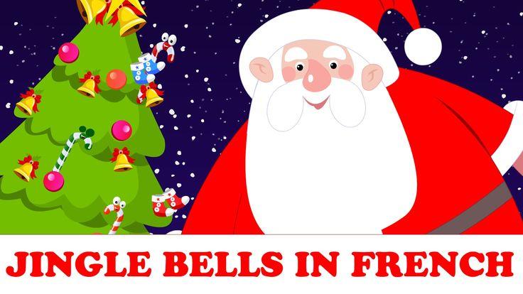 Vive le vent | Jingle Bells in French | chansons de noël pour enfants