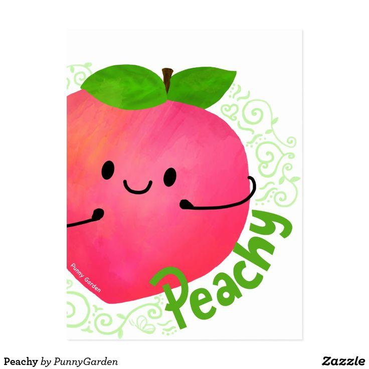 Peachy Postcard
