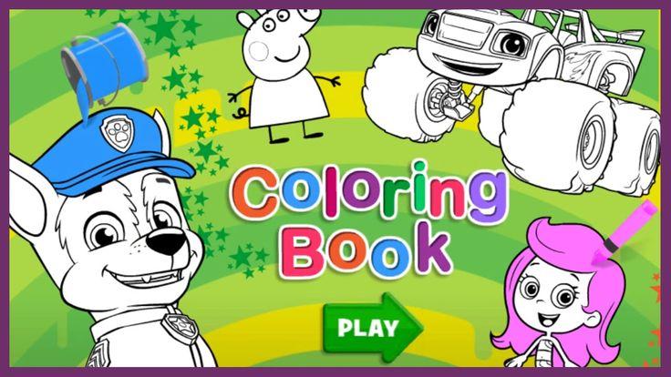nick jr coloring pages nick jr coloring book - Nick Jr Coloring Book