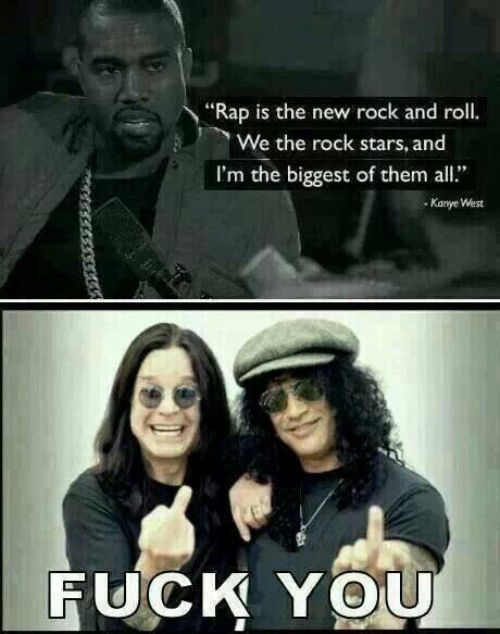 Ozzy and Slash ~ Fuck You