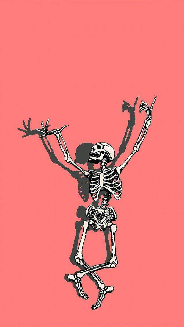Skeleton Wallpaper Doodle Art Designs Edgy Wallpaper Iphone Wallpaper Vintage