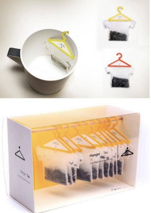 How cool is this?  Great packaging for tea :)