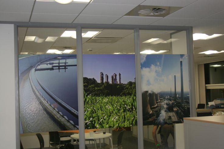 Siemens office signage @1define
