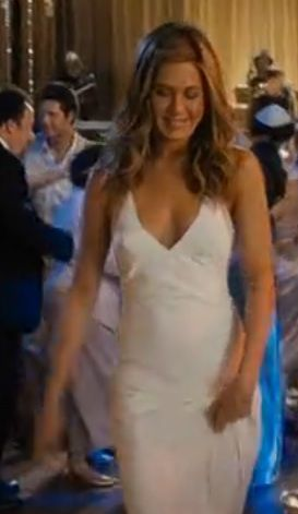simple & chick wedding dress | jennifer aniston | just go with it..if I could do my wedding dress choice all over again, I'd pick this one.