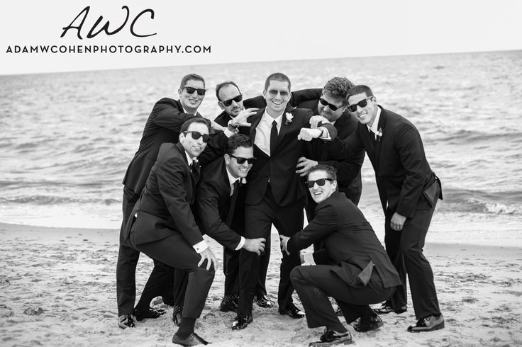 """There Can Be Only One"" Groomsmen Shot, inspired by The Matrix."
