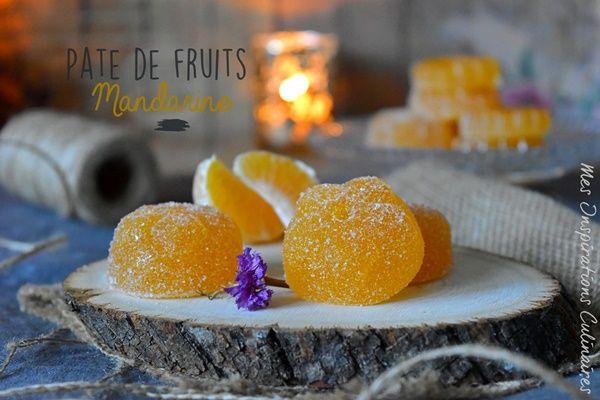 pâte de fruits à la mandarine
