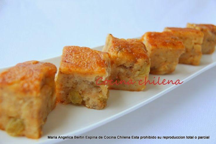 Colegiales o budín de pan   Se llaman colegiales en Chile       Son muy económicos   El nombre es por que los colegiales podian compr...