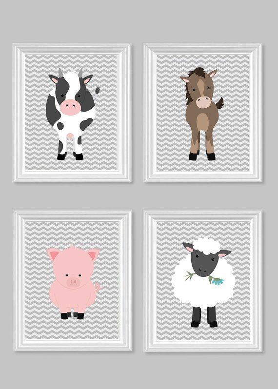 Azienda agricola vivaio arte Farm Kids Decor di SweetPeaNurseryArt
