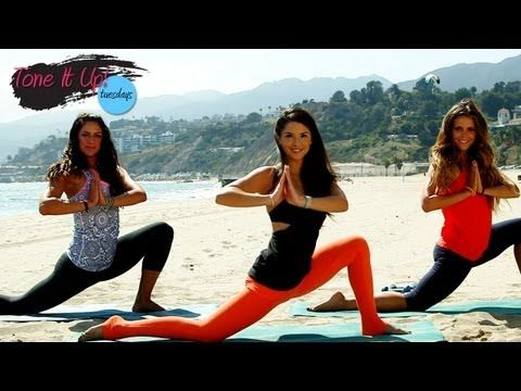 """""""Beach Barre Workout With Renée Herlocker 