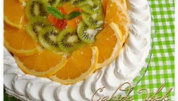 Kolay ve Gösterişli Yaş Pasta