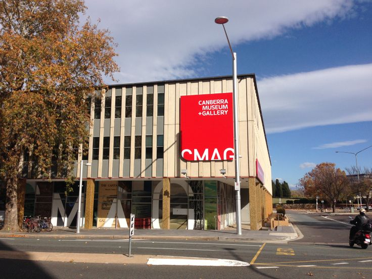 Canberra Museum & Gallery Signage
