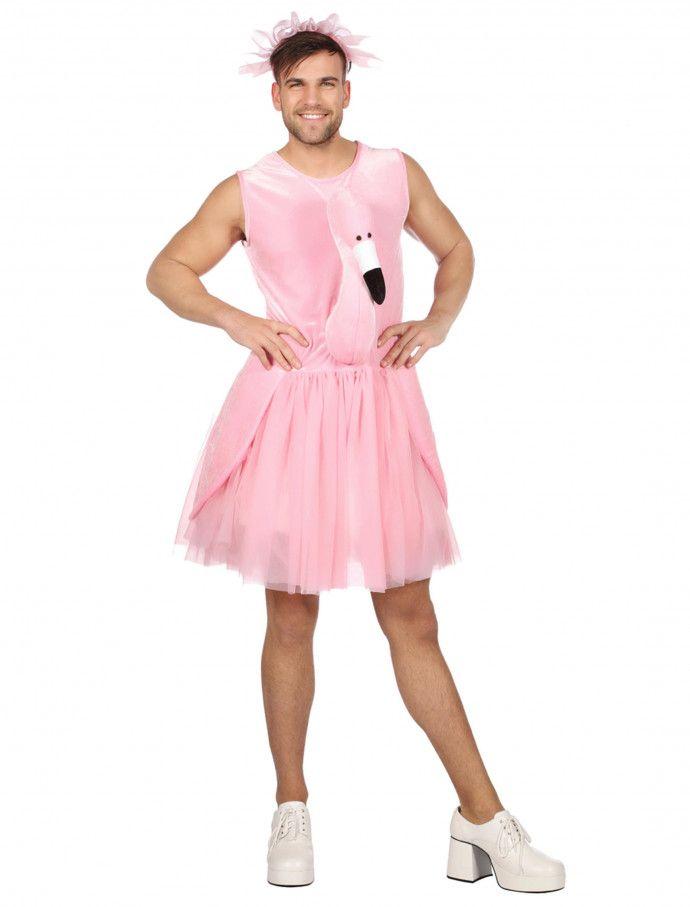 Kleid Flamingo Herren Fur Karneval Fasching Deiters Flamingo