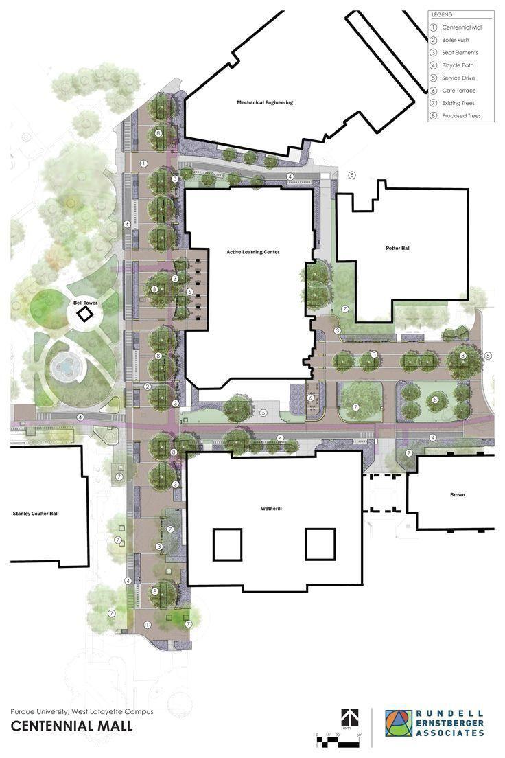 architecture landscape mall plans site Plans Mall