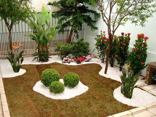 Para quem procura por 5 modelos de jardins pequenos para ter uma ideia de como decorar um ambiente de sua casa, confira alguns modelos aqui.
