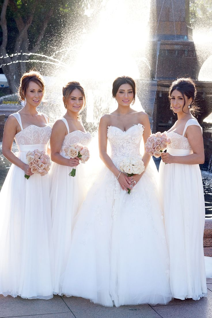 182 best stunning bridesmaids images on pinterest marriage doltone house wedding white bridesmaid dresseslace ombrellifo Choice Image