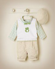 Janie and Jack - Layette Boy 0-18 months - Infant Clothes, Newborn Clothes, Baby Clothing and Newborn Clothing at Janie and Jack-  Harrison Easter?