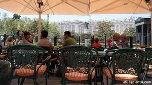 CAFE DE ORIENTE, MADRID