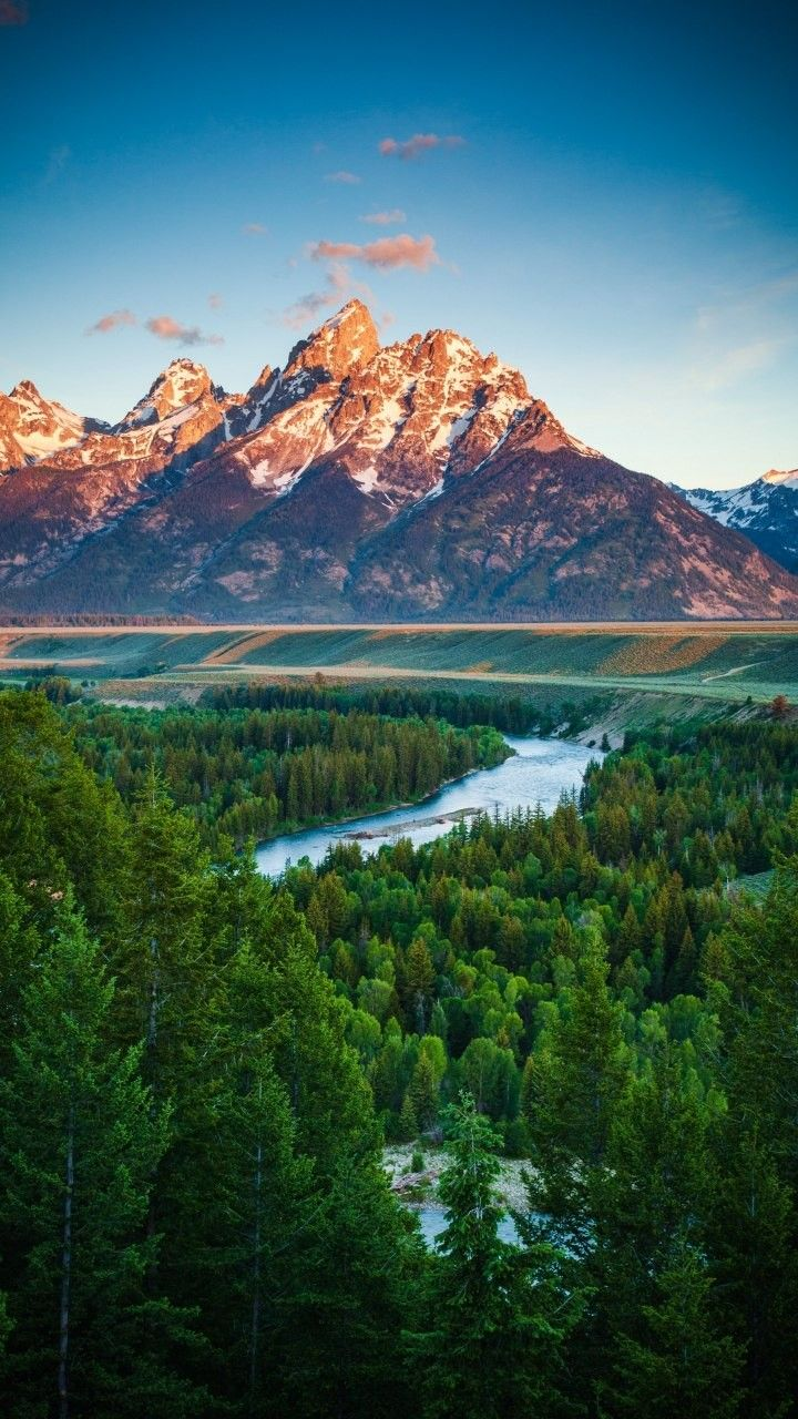 Mountain Forest River Nature Landscape Landscape Wallpaper Nature Photography Landscape