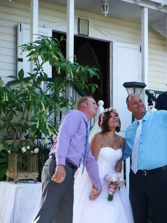 Wedding selfies!