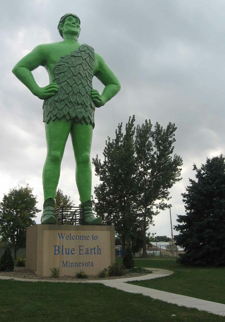 5 stories high The Jolly Green Giant