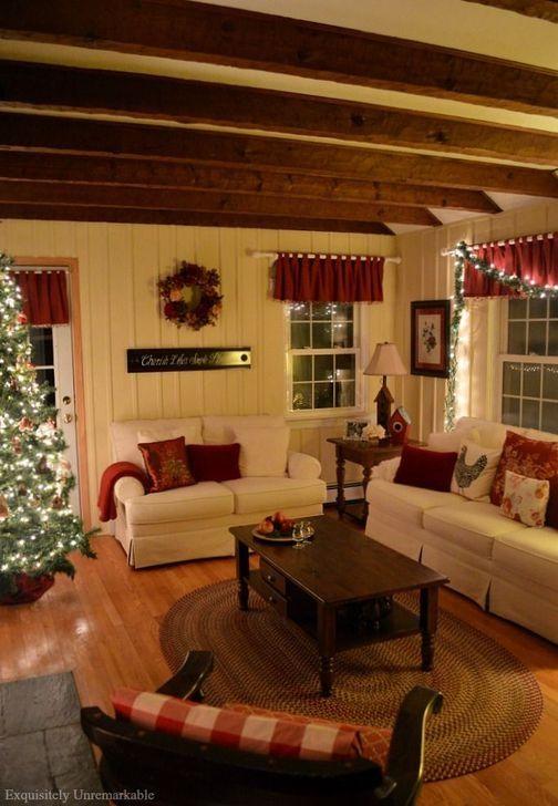 99 comfy christmas living room decoration ideas living room rh pinterest com decorating ideas living room with fireplace decorating ideas living room modern
